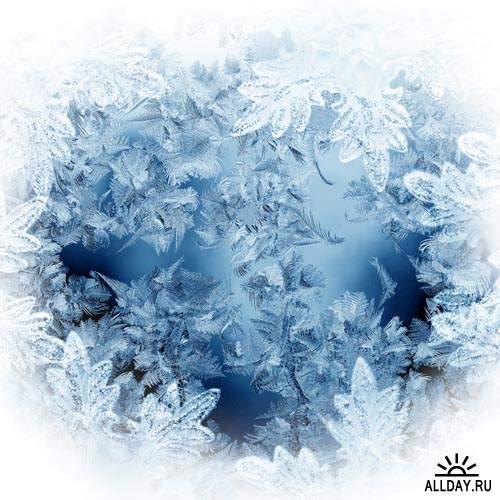 Морозный узор #1 - Растровый клипарт