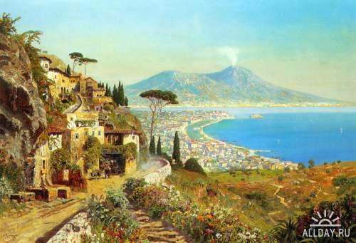 Сборник интересных картин живописи в фото