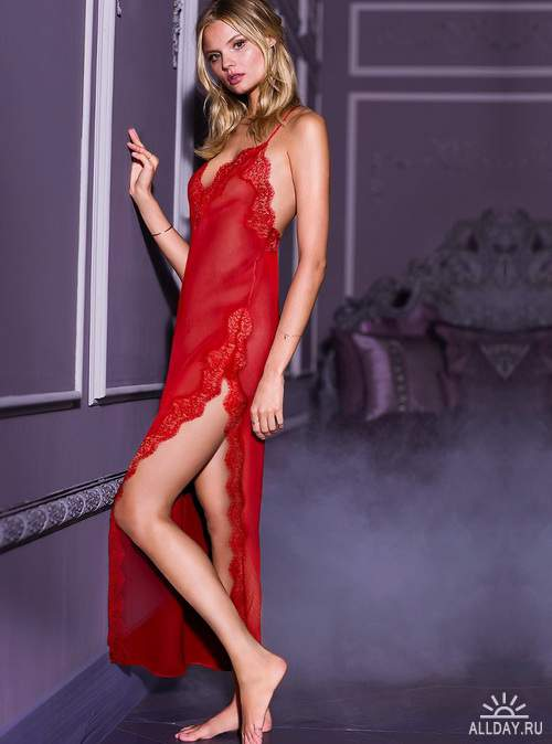 Magdalena Frackowiak - Victoria's Secret Photoshoots 2013