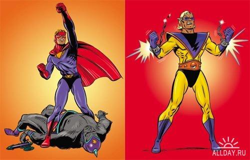Digital Vision DV-403 (Superheroes)
