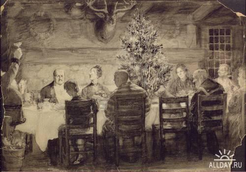 Американский иллюстратор Уильям Лерой Якобс (William Leroy Jacobs (1869-1917))