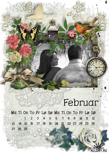 Scrap kit  Calendar 2012