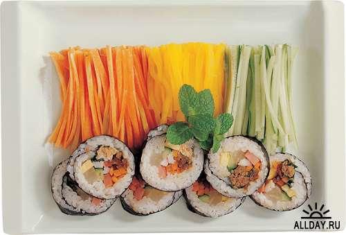 Суши и японская кухня (большая подборка изображений)