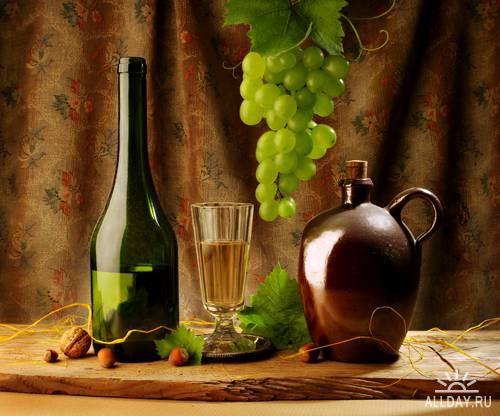 Wine Still-life - UHQ Stock Photo | Натюрморты с вином