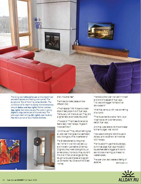 Des Moines Homestyle - March 2012