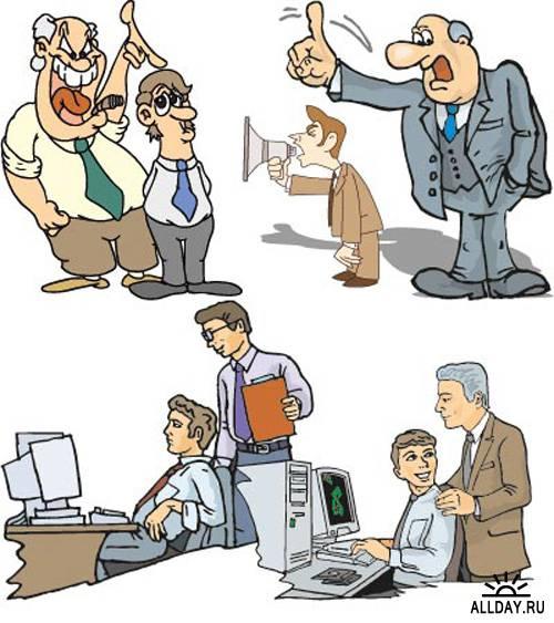 Векторный клипарт - Бизнес и офис