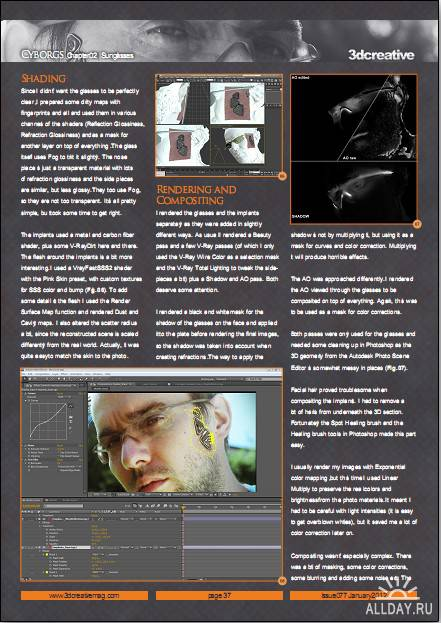 3Dcreative - Issue 77 (January 2012)