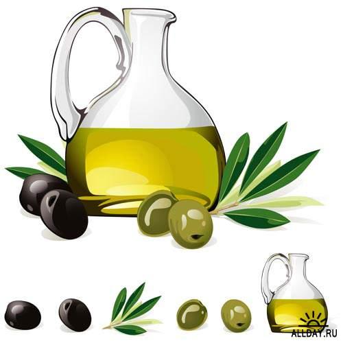 Векторные оливки #3 - Векторный клипарт