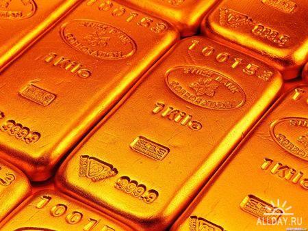 Коллекция обоев на тему Денег и Золота №1