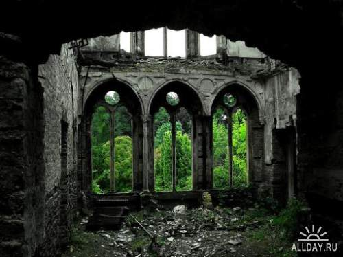 Красоты заброшенных человеком мест