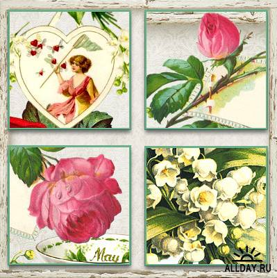 Freebie - Embellishments May 1 - Personal Use