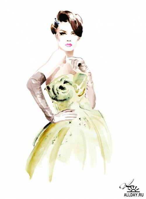 Christian David Moore - Fashion Illustration