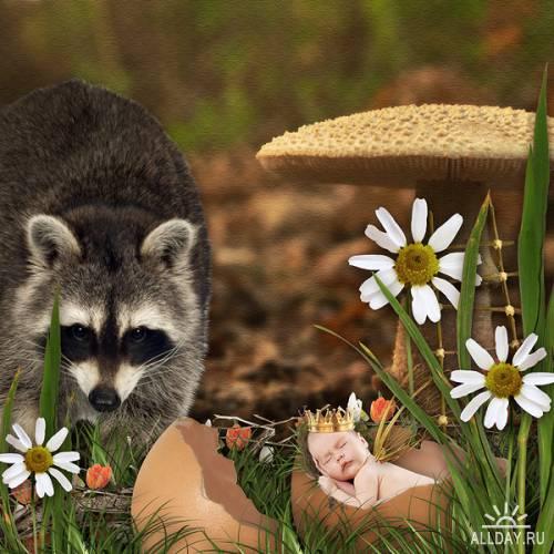 Скрап набор Spring Faeries