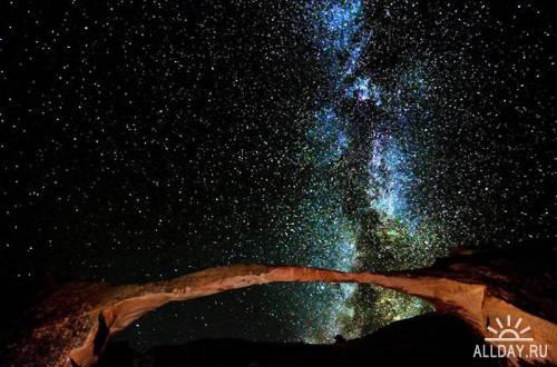 Фотографии Брета Вебстера (звездное небо)