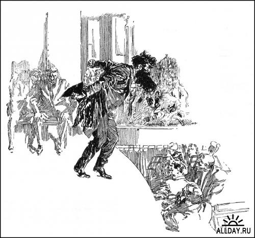 Аамериканский иллюстратор Joseph Clement Coll (1881-1921