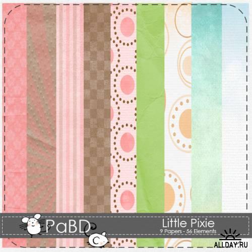 Скрап-набор - Little Pixie
