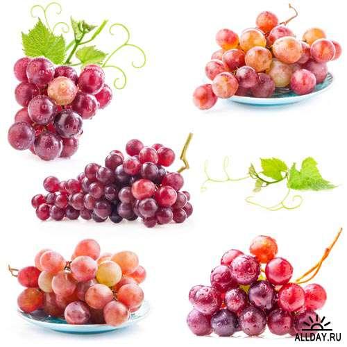 Еда. Мега коллекция. Виноград #5 - Растровый клипарт