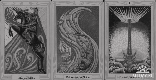 Photoshop Brushes: Majestic Tarot, Old Pages, Taro Cards by AkiraXs