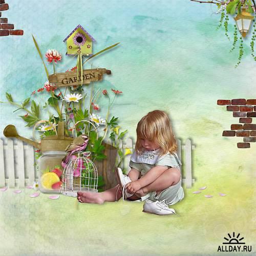 Скрап-набор Simply garden