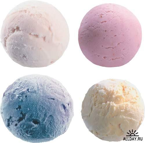 Фотосток: Мороженое - шарики
