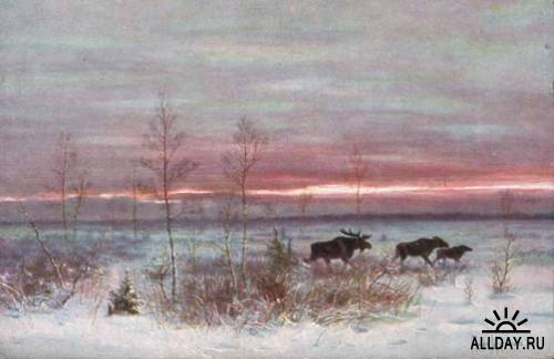 Охотничья живопись графа Муравьёва