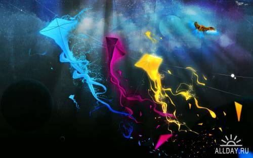 40 Excelent Colorful Art Premium HD Wallpapers