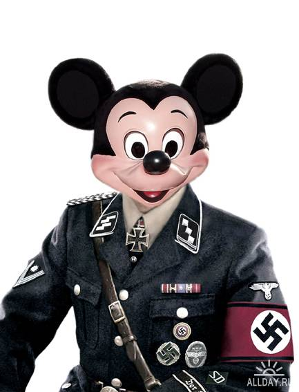 Disneyland Under Attack by Max Papeschi