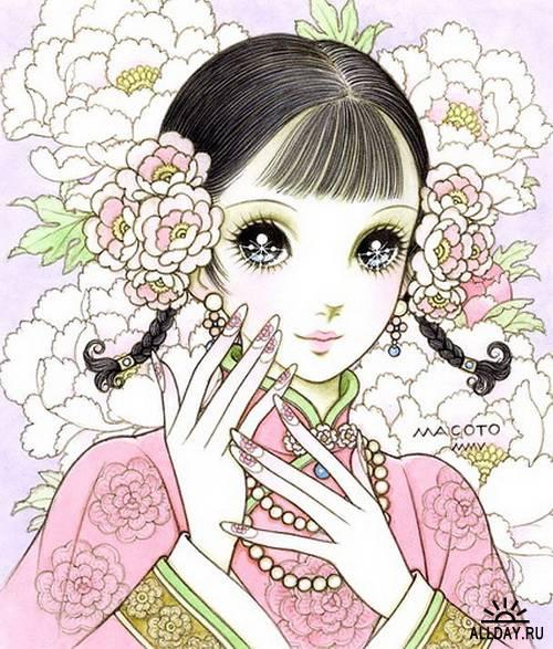 Прародители Манги (4 часть). Художник Makoto Takahashi
