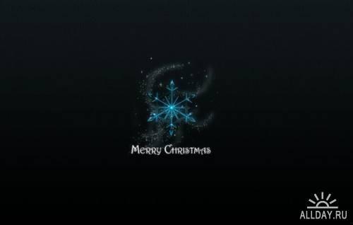 Рождественские обои 2012 (390шт.)