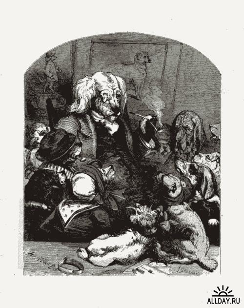 Художник и иллюстратор Harrison William Weir