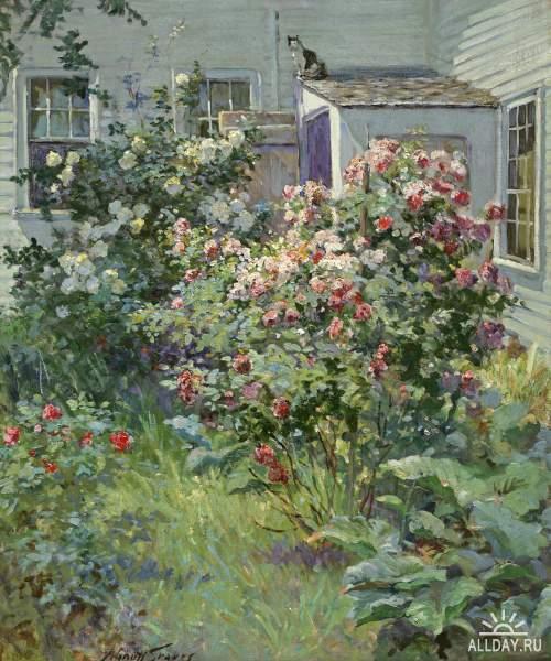 Американский художник Abbott Fuller Graves (1859–1936 )