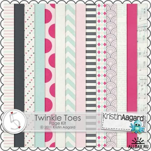 Скрап набор - Twinkle Toes