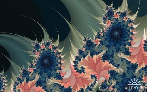 Интересные обои и картинки абстракций и фрактал