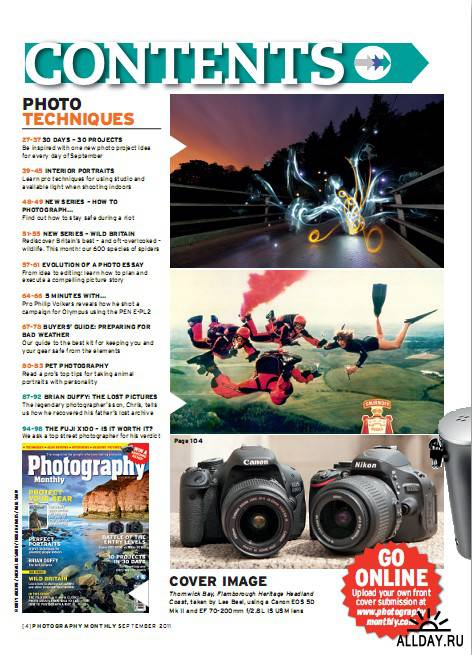 Photography Monthly №9 (September 2011)