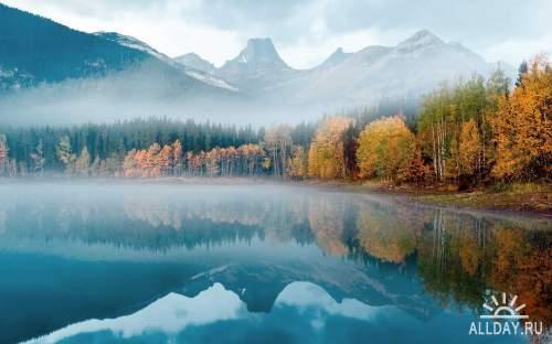 Замечательная подборка  красивой  природы .Фото обои.