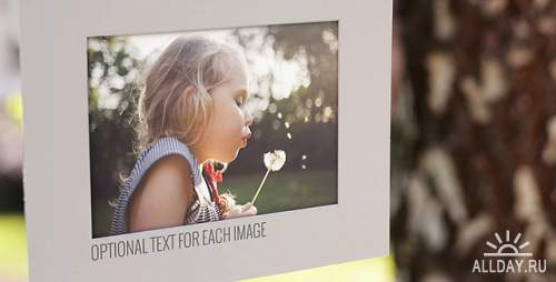 VideoHive - Photo Gallery on a Sunny Afternoon (3209013)