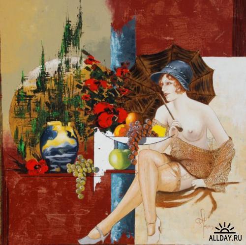Работы художника Francois Lassere