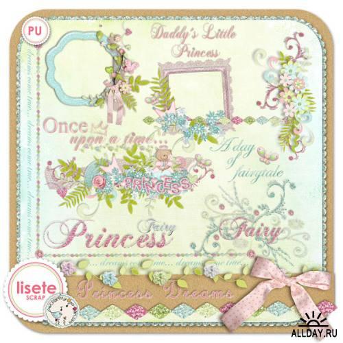 Скрап-набор - Princess Dreams