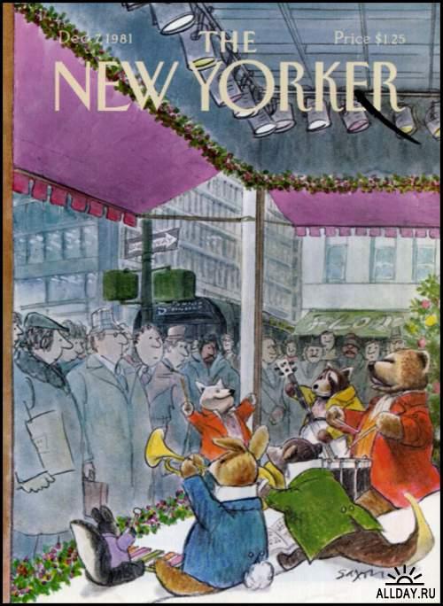 Covers magazine New Yorker 2 | Обложки журнала New Yorker 2