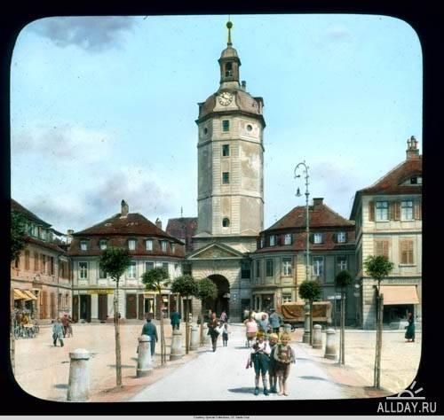 Коллекция цветных раскрашенных слайдов Брансон Де Ку ( 1920-1941 ) Ч. 1