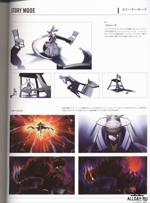 Blazblue Continuum Shift Material Collection