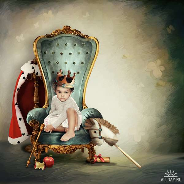 Scrap set - Brave prince