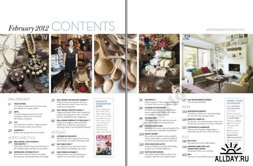 Homes & Antiques - February 2012