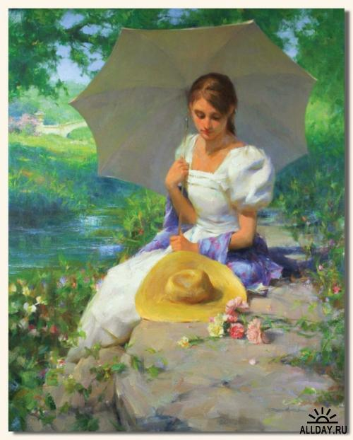 Женский образ в работах художника  Romel de la Torre