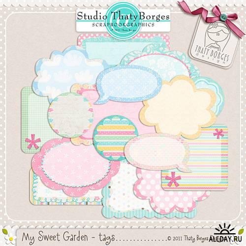 Скрап-набор My Sweet Garden