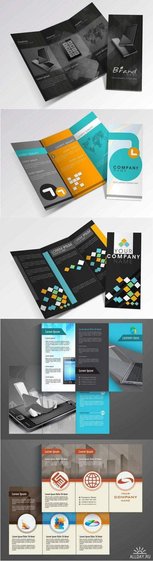 Professional Business Three Fold Flyer Collection