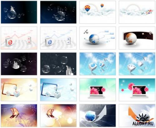 Creative wallpapers pack