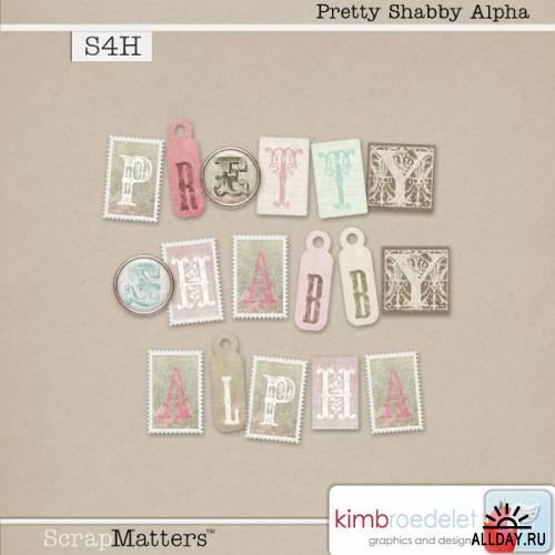 Скрап-набор Pretty Shabby