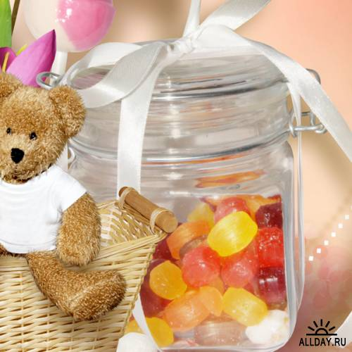 Скрап-набор «Sweet like Candy»