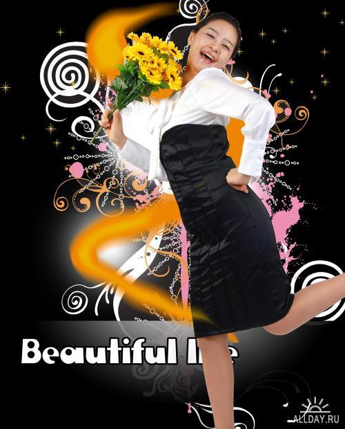 PSD templates - Beautiful life 2